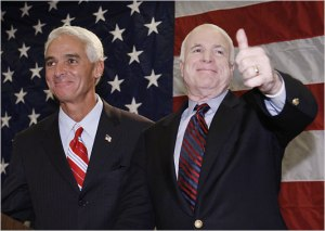 Remember when Crist endorsed McCain just 6 short years ago? Neither does he.