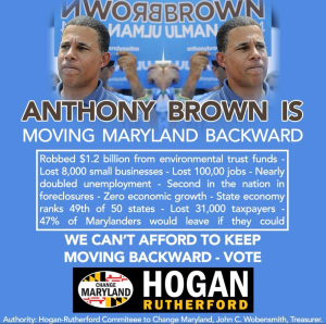 "Anthony Brown might be convinced that Maryland voters are nothing more than a ""molehill,"" but Marylanders are too smart to buy his lies. This stellar graphic is from Change Maryland."
