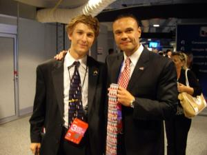 "The first time I ever met Dan was at the 2012 RNC in Tampa, where I learned the hard way never to call him ""Mr. Bongino,"" because it makes him feel like ""one of them."" I then hadn't seen him for several months, but the next time I saw him he, without being prompted, told me he remembered signing my tie and had gone around the state telling people about it."