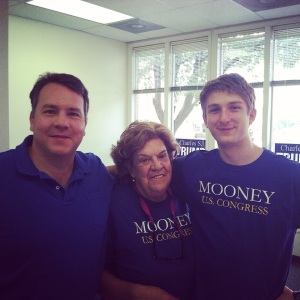 One of the best experiences I had in this election was campaigning in West Virginia with the Mooney Family.