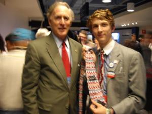 By the time the 2012 Republican National Convention rolled around, Cliff Stearns had already lost his primary so I got to talk with him for a while.