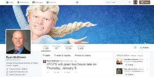 It seems fitting that this is the Twitter profile of one of the people involved in the decision to not #CloseFCPS