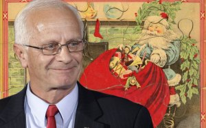 Because Santa Claus sounds so much better than Santa Bentivolio... Image source: http://www.thedailybeast.com/articles/2014/12/24/kerry-bentivolio-the-congressman-who-believes-in-santa-claus.html