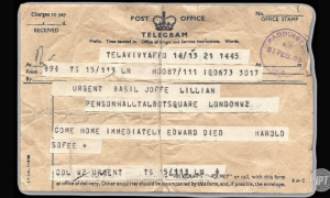 Imagine learning that your brother had been murdered by a terrorist via telegram. That is exactly how one of Edward Joffe's brothers had the news broken to him.  Image from Investigative Project (http://www.investigativeproject.org/4634/part-3-spinning-a-terrorist-into-a-victim-rasmieh).