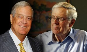 The Koch Brothers themselves. Image source: http://news.yahoo.com/koch-brothers-books-220502018.html