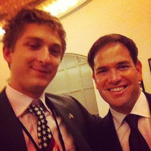 Regardless of what he runs for, Rubio's selfie game is on point.