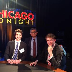 College Republicans were well represented at the final Mayoral debate of the year.