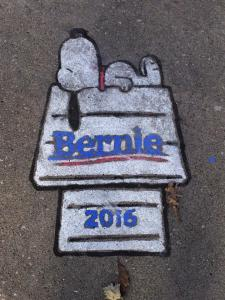 "Although O'Malley won the ""Chalk Wars,"" this was my favorite."