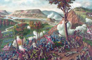 The famous charge. Image via http://www.esquire.com/news-politics/news/a26157/civil-war-chattanooga-campaign-battle-of-missionary-ridge-112513/