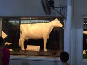 Iowa butter cow