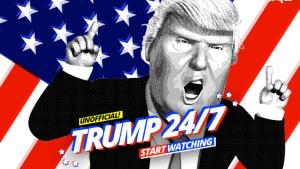 All Trump, all the time. Image via e27.