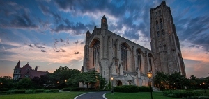 The University of Chicago's Rockefeller Chapel. Image via FIRE.