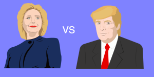Do you tweet like Clinton or Trump? Use this tool to see how others match up! Image via thedonaldtest.com