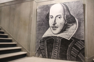 The offending Shakespeare portrait. Image via The Daily Pennsylvanian.